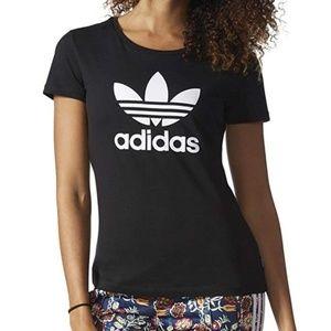 Womens Adidas Trefoil shirt